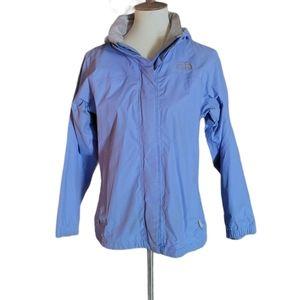 The North Face - Light Blue Hyvent Rain Ja…